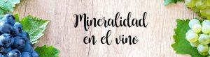 Mineralidad en el vino